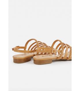 Candrynne Braided Flat Sandal