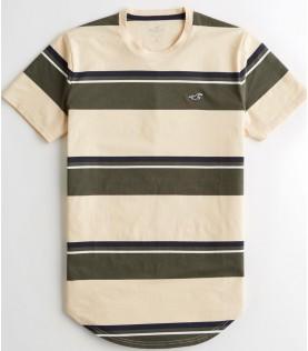 T-shirt à ourlet arrondi
