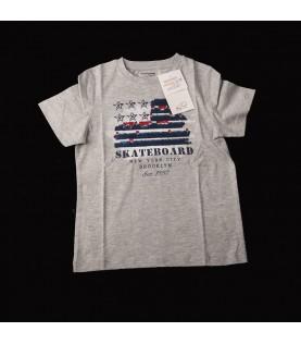 tee-shirt gris americain...