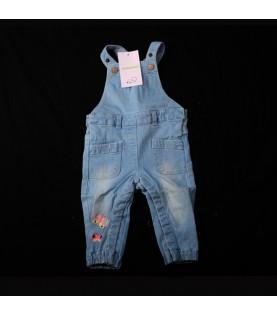 Salopette  jeans bleu ciel...