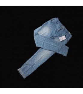 Pantalon jean bleu fille 14...