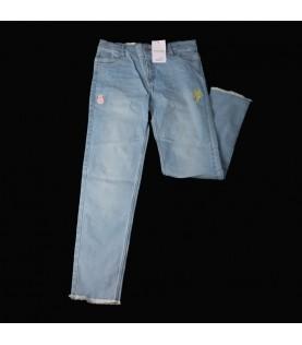 Pantalon jean bleu ciel...