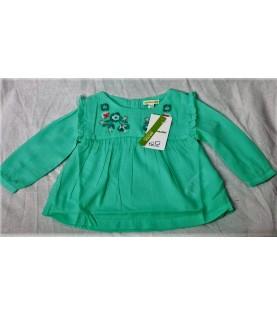 Chemise blouse vert claire...