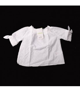 Chemise blanche perforé...